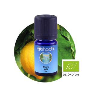Zitronenöl, Zitrone gelb bio - Ätherisches Öl