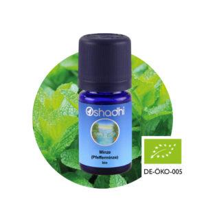 Ätherisches Öl Minze (Pfefferminze) bio