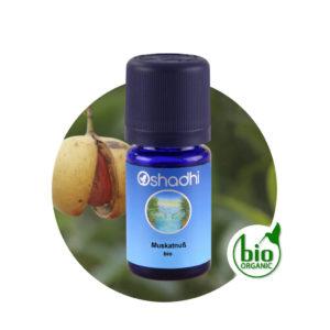 Ätherisches Öl Muskatnuß bio