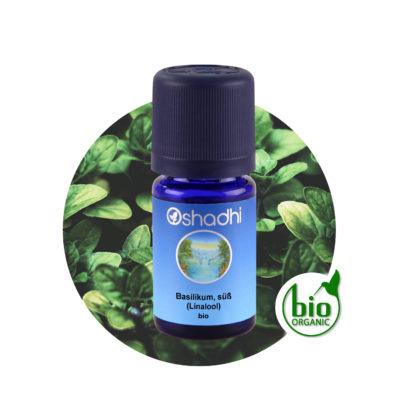 Ätherisches Öl Basilikum, süß (Linalool) bio
