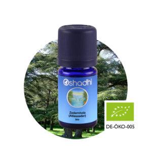 Ätherisches Öl Zedernholz (Atlaszeder) bio